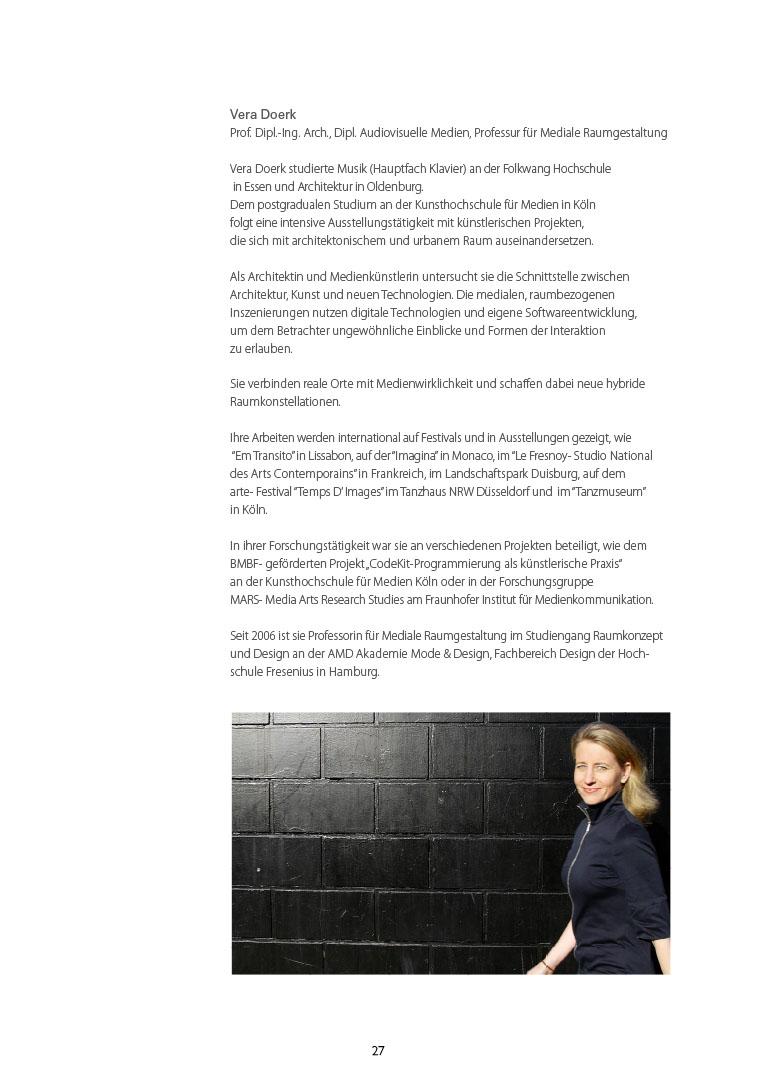 Raumgestaltung studium  Mediale Raumgestaltung « Vera Doerk