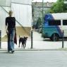 Frau mit Hund 3